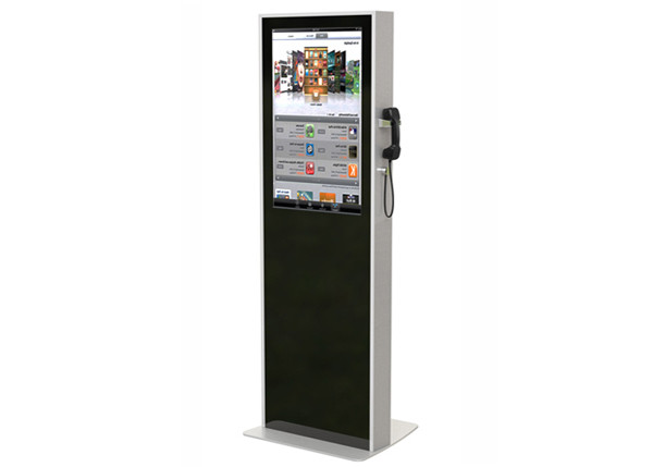 Ps10580672 32 Inch Interactive Touch Screen Kiosk Semi Outdoor Digital Signage Kiosks Machine